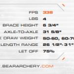Bear Archery - 2016 Threat - Ready To Hunt