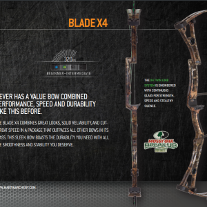 Martin – 2014 Blade X4